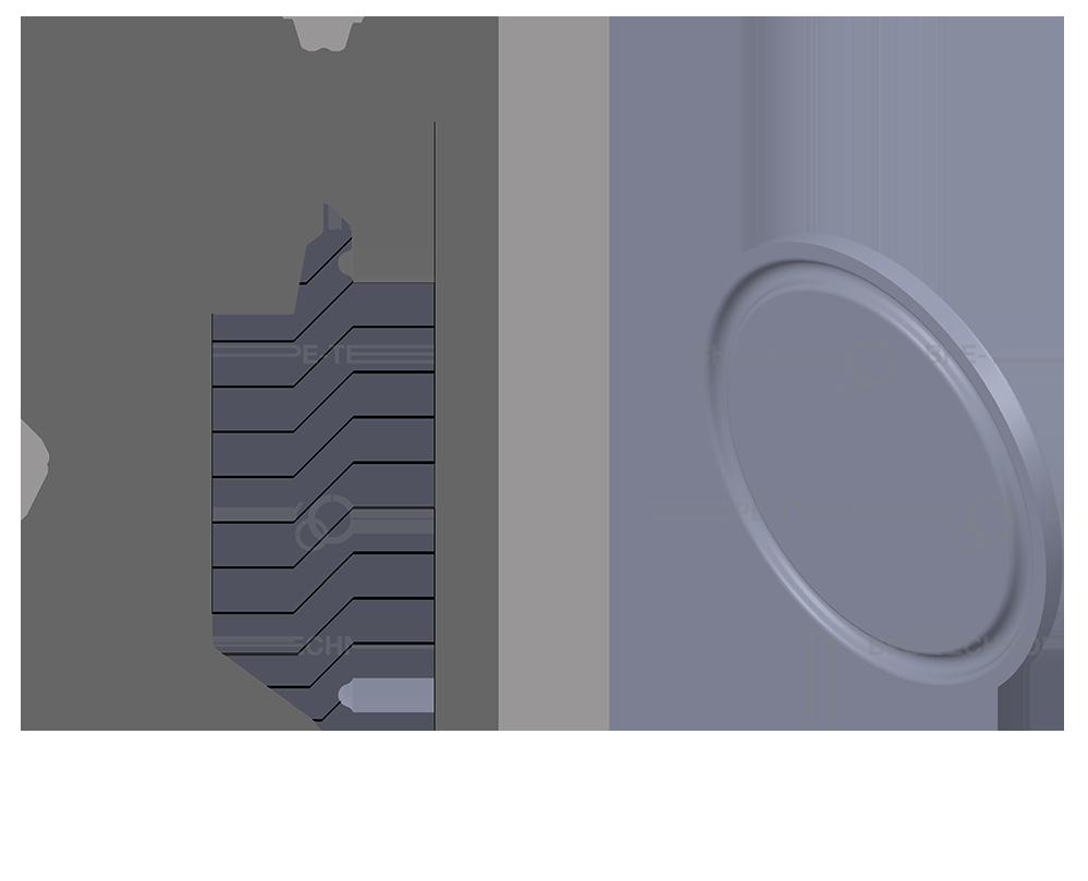 DT-31 Ferrule Cap 12,70/19,05 x 1,65mm SF1