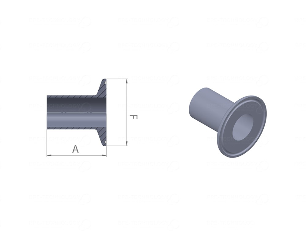 DT-22A Ferrule 25,40 x 1,65mm WxC SF1