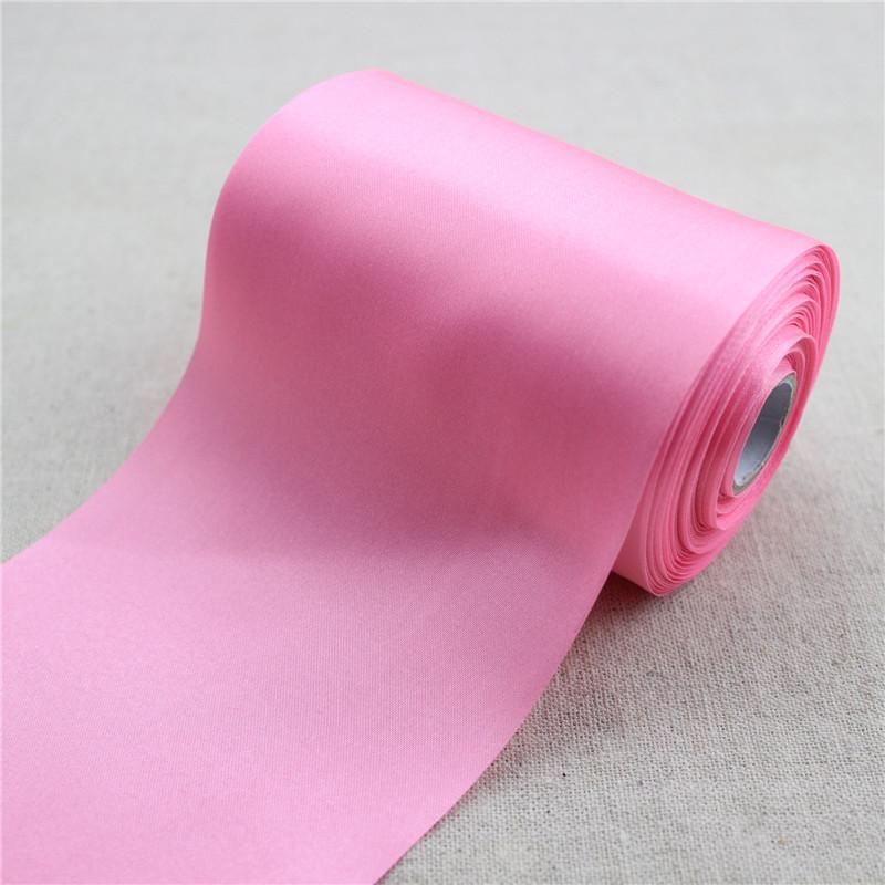 Ceremonie lint 10 cm x 200 cm (roze)