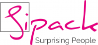 Sipack Surprising People logo