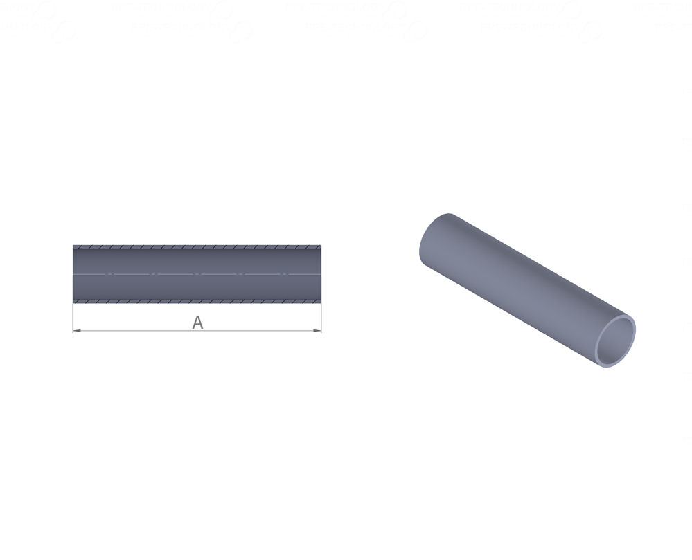 DT-01 Tube 25,40 x 1,65mm WxW SF1