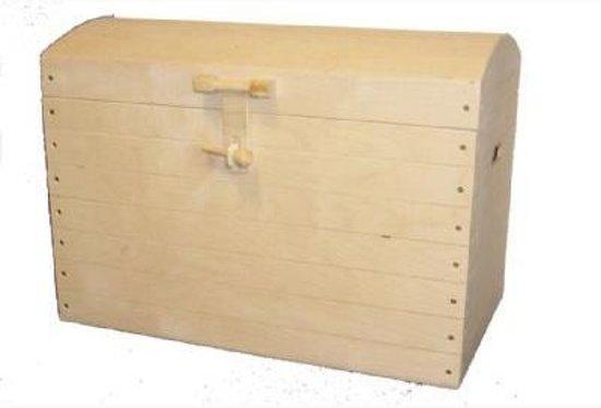 Dagaanbieding - Robuste Speelgoedkist van hout 36x29x22 cm dagelijkse koopjes