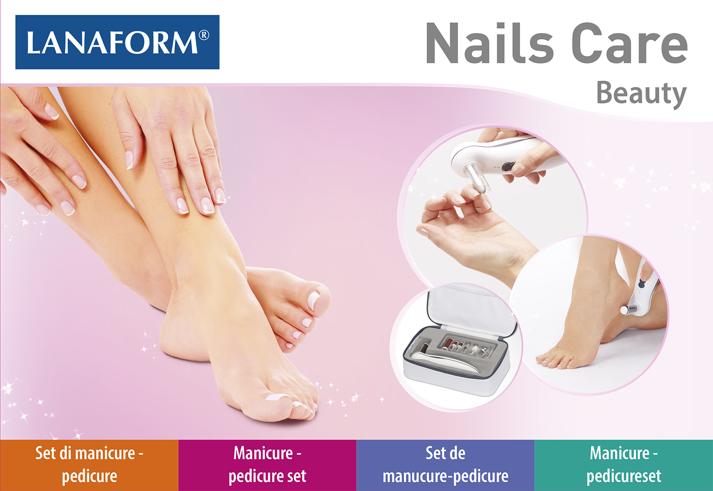Lanaform Nails Care, Manicure & Pedicure-set